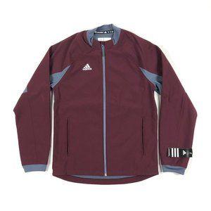 Adidas Dugout Warm Jacket Baseball Full Zip Maroon